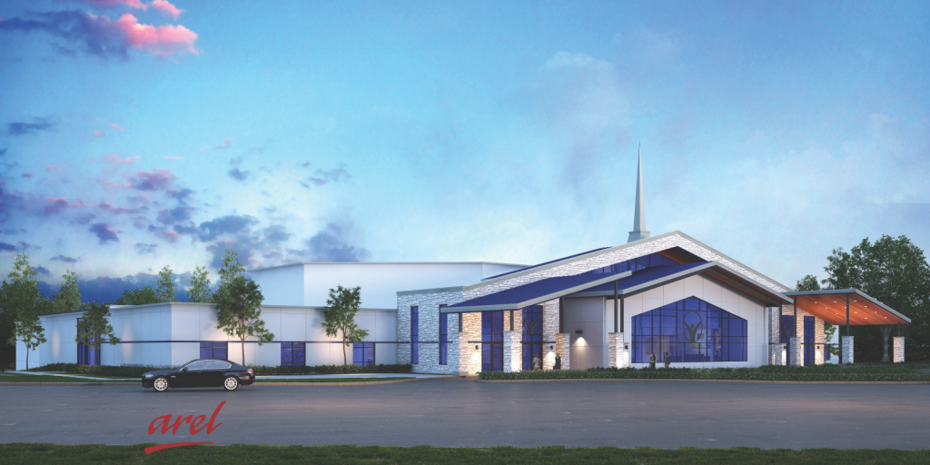 03192020 ISSUED Arel_New Community Church - 3D Rendering