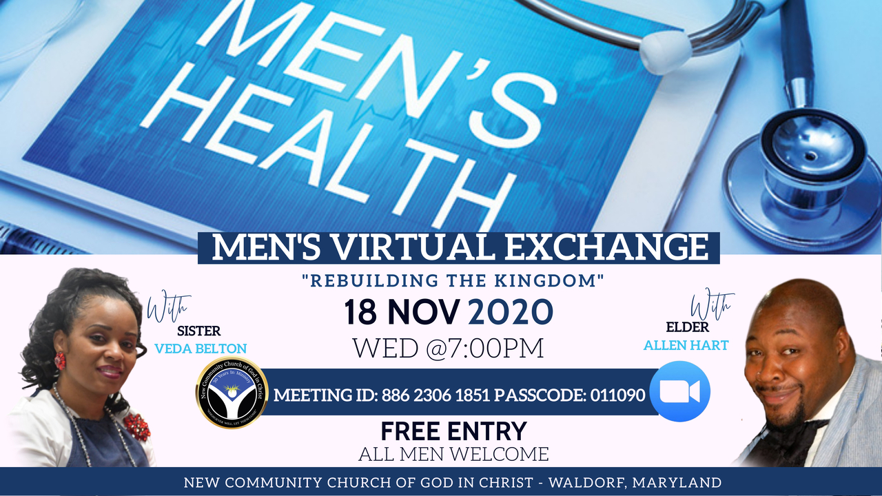 MENS VIRTUAL EXCHANGE NOV 18 2020